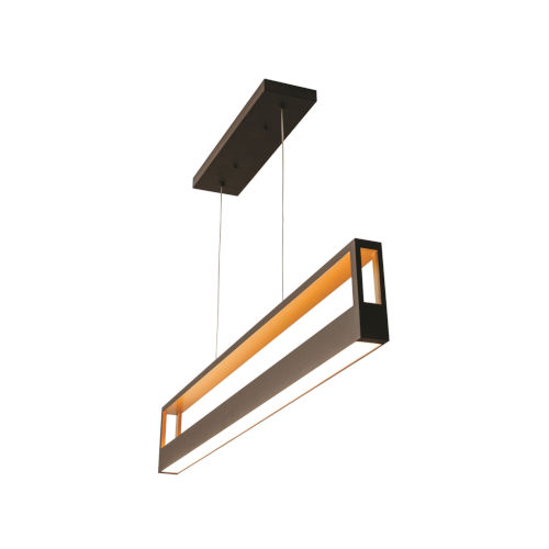 Echo Black 45-Inch LED Pendant