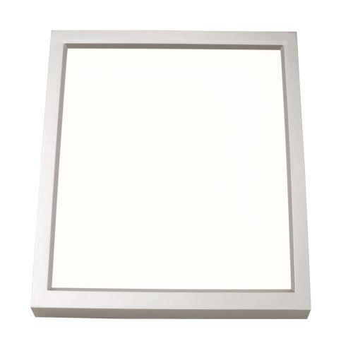 Edge Square Satin Nickel 6-Inch LED Flush Mount