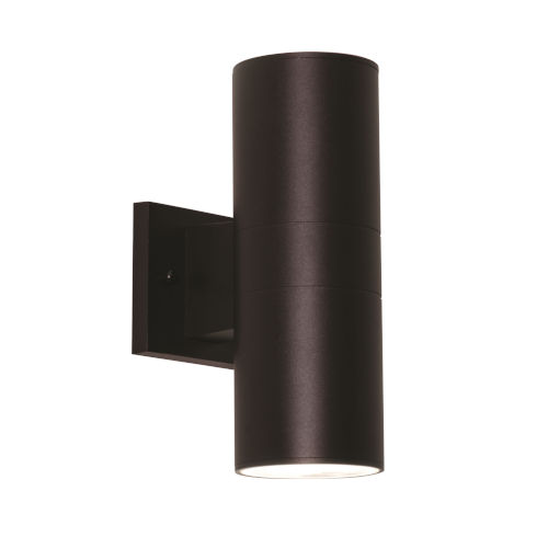 Everly Black LED Outdoor Wall Sconce