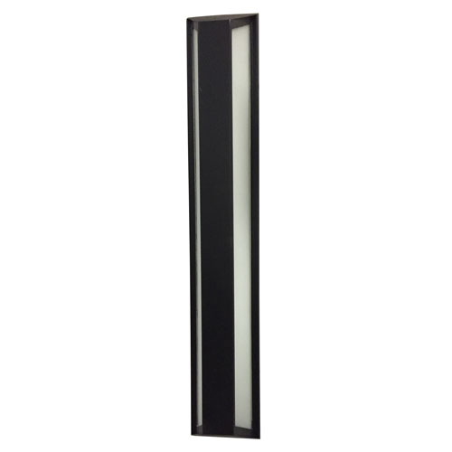 AFX Fulton Black 24-Inch LED Wall Sconce