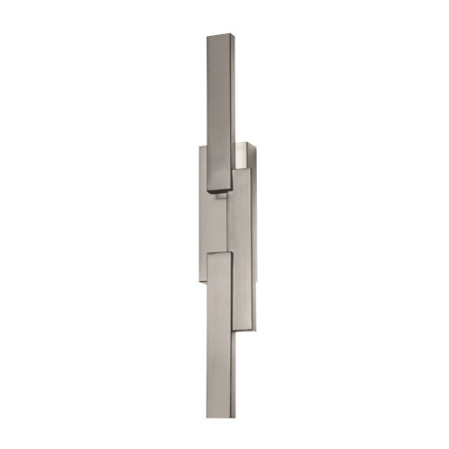Ion Satin Nickel LED Wall Sconce