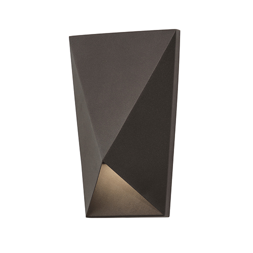 Knox Bronze 10-Inch LED ADA Compliant Outdoor Wall Sconce