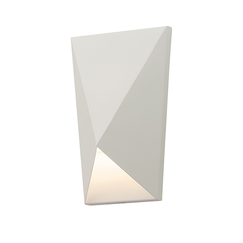 AFX Knox White 10-Inch LED ADA Compliant Outdoor Wall Sconce