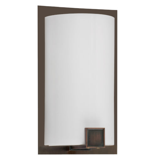 Nolan Rubbed Bronze Seven-Inch One-Light Wall Sconce
