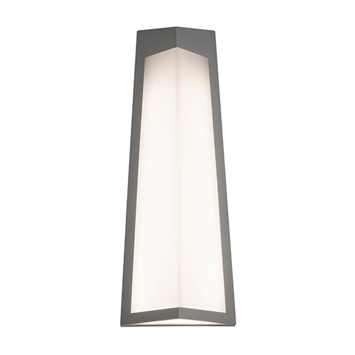 AFX Pasadena Textured Grey Four-Inch LED Sconce