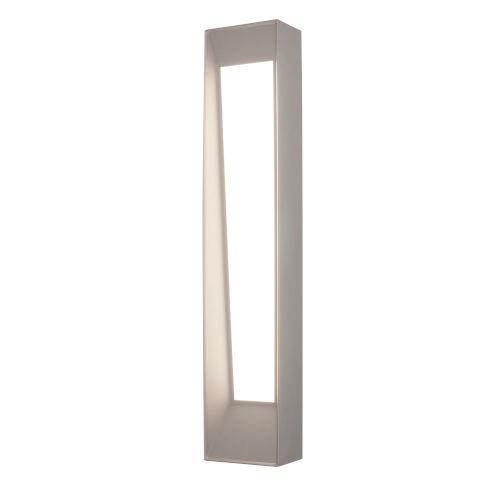 Rowan Textured Gray Seven-Inch LED Wall Sconce