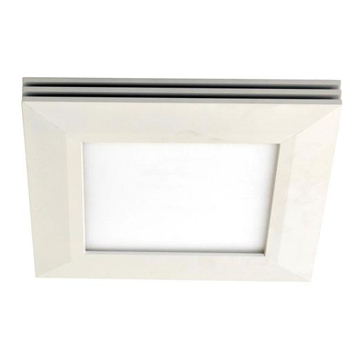 AFX Sloane White 15-Inch LED Flush Mount