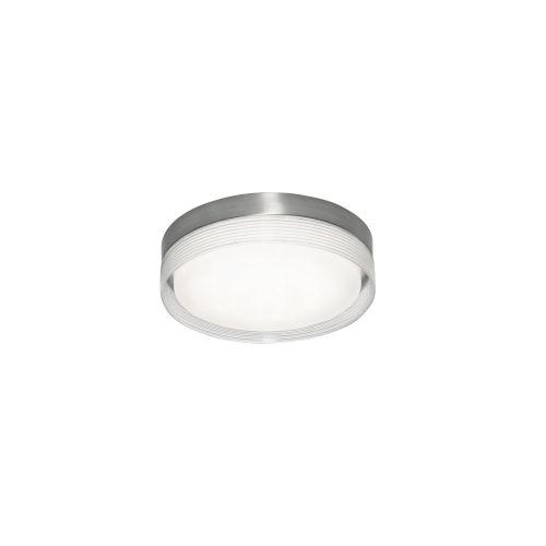 Tribeca Satin Nickel 16-Inch LED Flush Mount