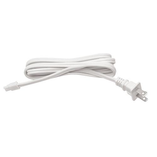 Vera White 60-Inch Undercabinet Cord and Plug