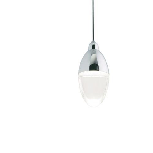 London Polished Nickel One-Light Pendant