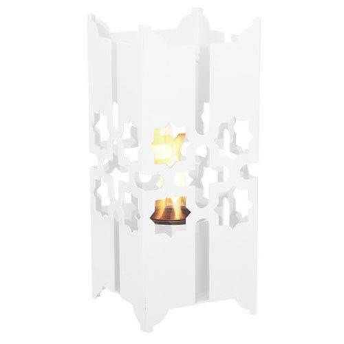 Tripoli Small Lantern in White