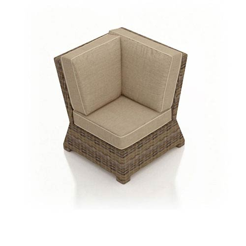 Cypress Heather Sectional Corner Chair