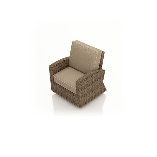 Cypress Heather Swivel Glider Club Chair
