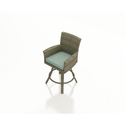 Hampton Heather Swivel Bar Stool