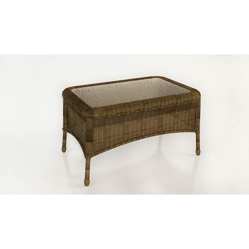 Forever Patio Rockport Chestnut Coffee Table