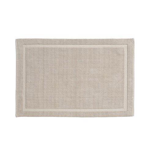 Lao Sand Organic Cotton 17-Inch x 24-Inch Bath Rug