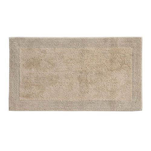 Puro Driftwood Organic Cotton 17-Inch x 24-Inch Bath Rug