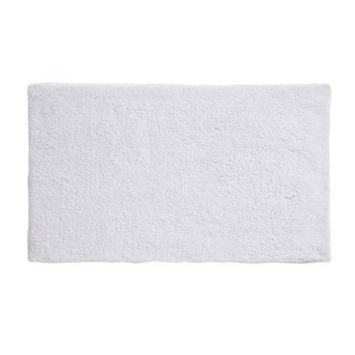 Namo White Organic Cotton 17-Inch x 24-Inch Bath Rug