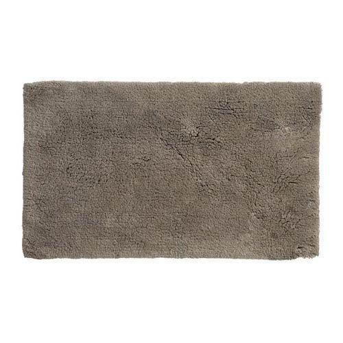 Namo Taupe Organic Cotton 17-Inch x 24-Inch Bath Rug