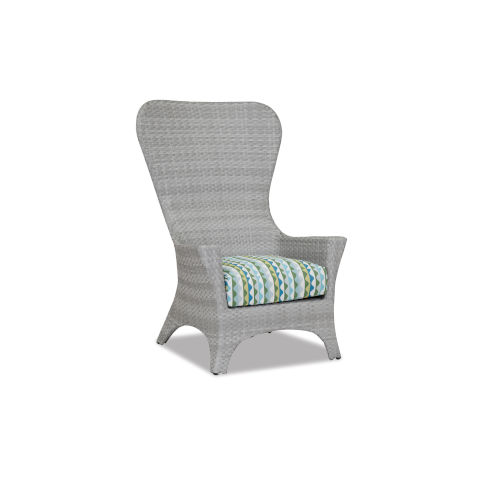 Milano Gray 32-Inch Club Chair