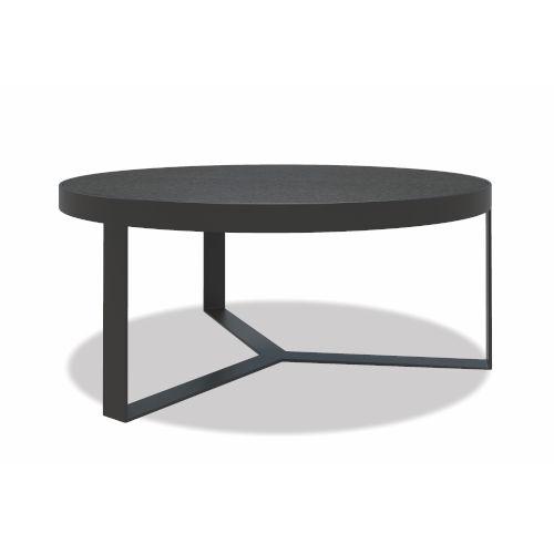 Bazaar Gray 38-Inch Round Coffee Table