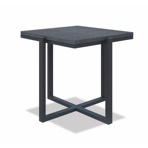 Bazaar Gray 22-Inch End Table