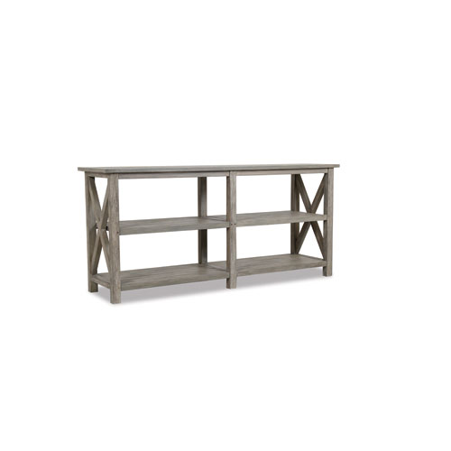 Teak Driftwood 72-Inch Console Table