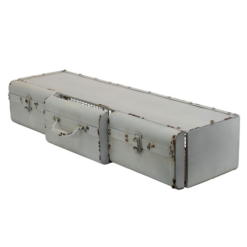 Metal 36 In. Suitcase Shelf