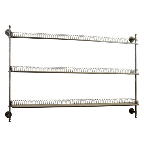 Large Metal Wall Rack