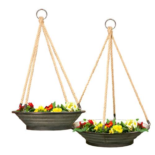 Hanging Planter, Set of Two