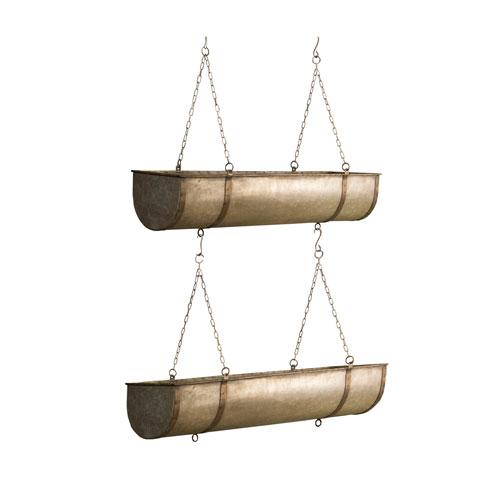 Metal Hanging Planters