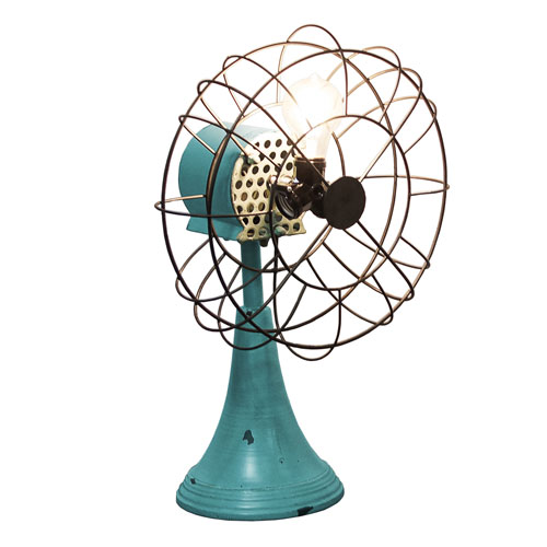 Metal Triple Light Fan