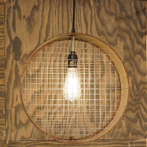 Round Shapped One-Light Hanging Pendant Light