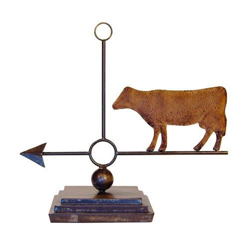 Cow Compass Decor