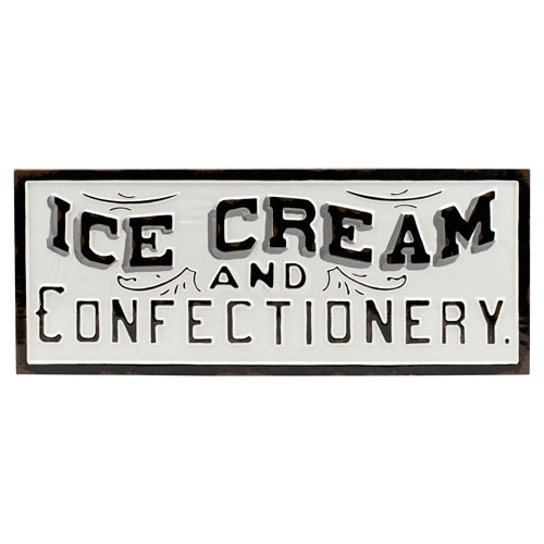 Ice Cream Metal Sign