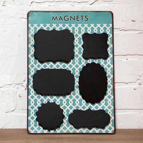 Metal Magnet Shapes