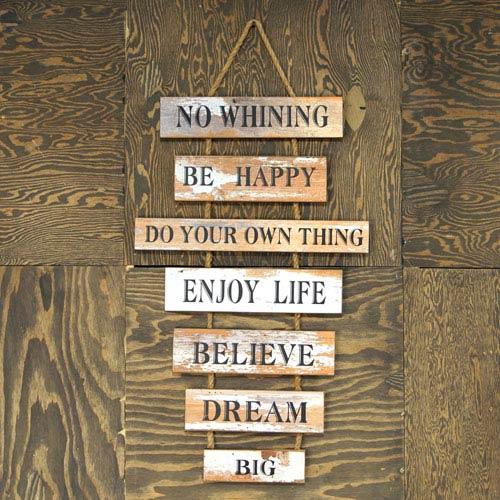 Wood  Hanging Sign