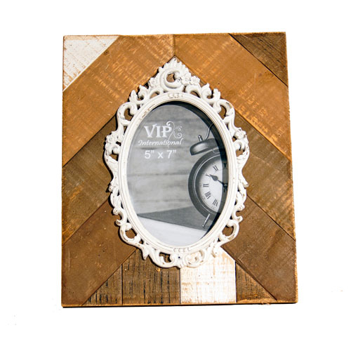 Multi-Wood Picture Frame