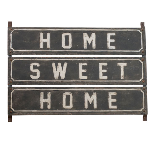 Metal Sign Home Sweet