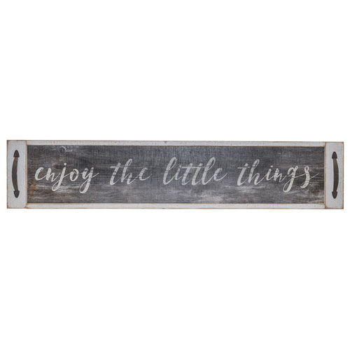 Little Things  Wood Sign