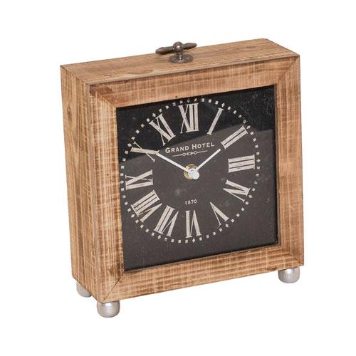 Wood Table Clock