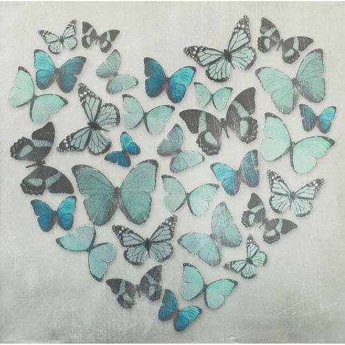 Butterfly Love Canvas Wall Art