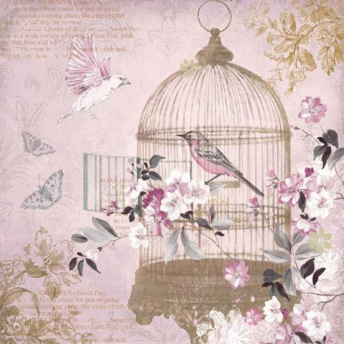 Enchanted Birdcage Canvas Wall Art