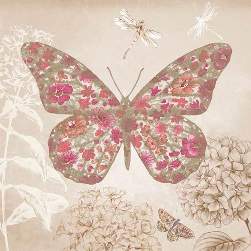 Enchanted Butterfly Framed Art