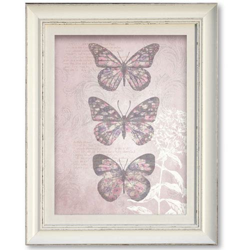Enchanted Butterflies Framed Art