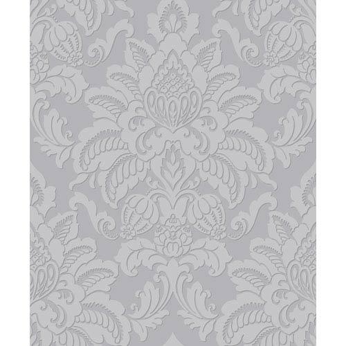 Glisten Platinum Wallpaper