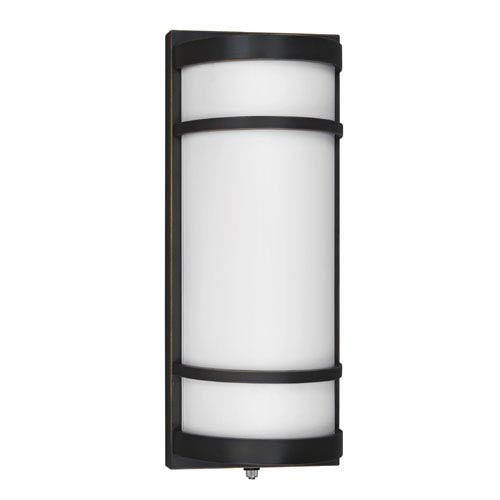 Bilboa Oil-Rubbed Bronze Two-Light Outdoor Sconce