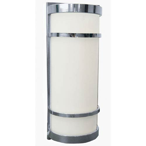 AFX Brio Satin Nickel Two-Light Outdoor Sconce