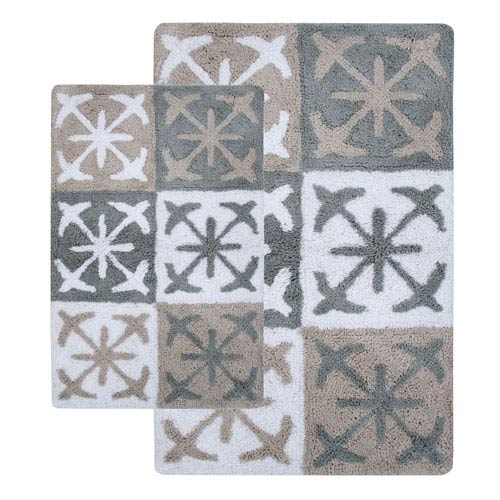 Columbia Windswept Two-Piece Bath Rug Set