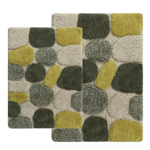 Pebbles New Willow Two-Piece Bath Rug Set